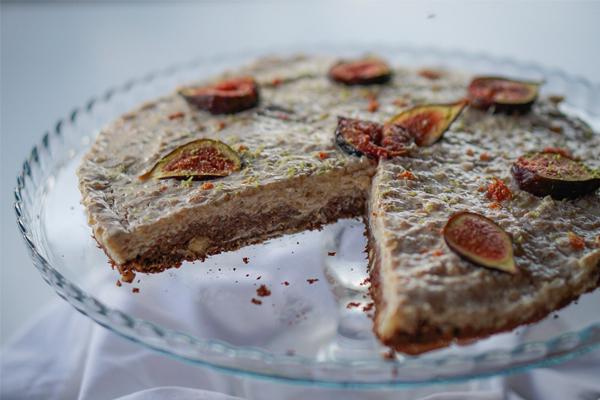 Cheesecake de Figo e Limão