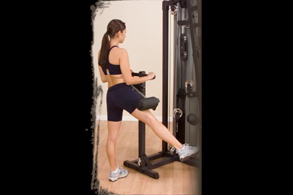 Abdução na máquina multi hip