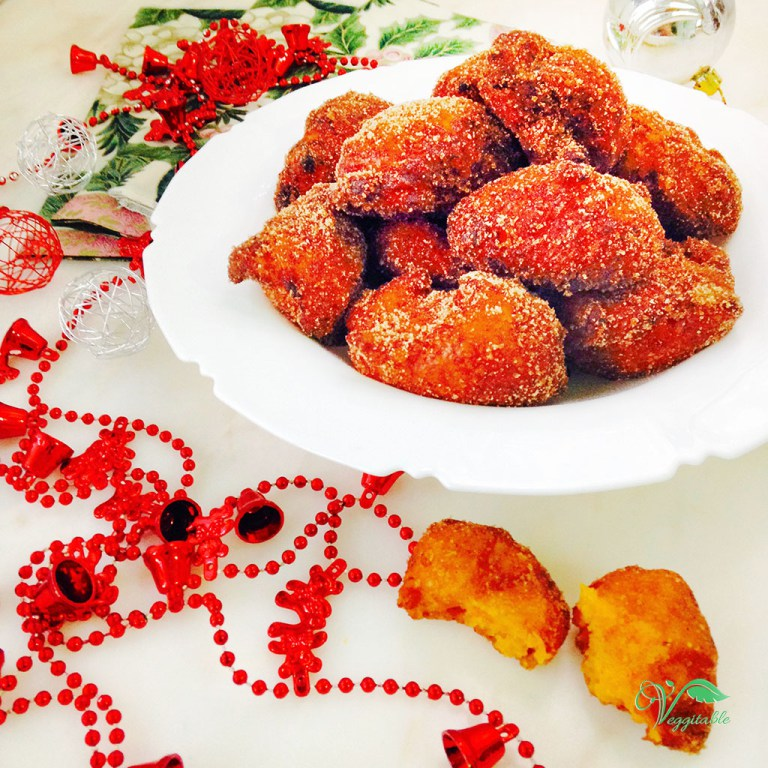 Sonhos de Natal de Abóbora