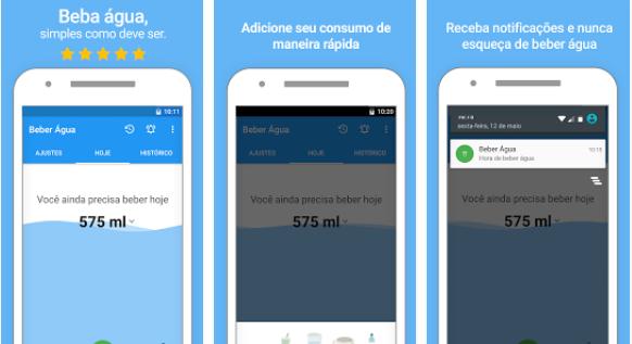 Aplicativo para beber agua gratuito para iphone