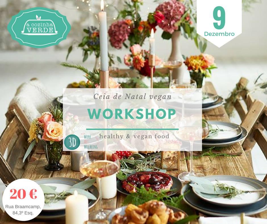 Workshop Ceia de Natal vegan (9 de dezembro)