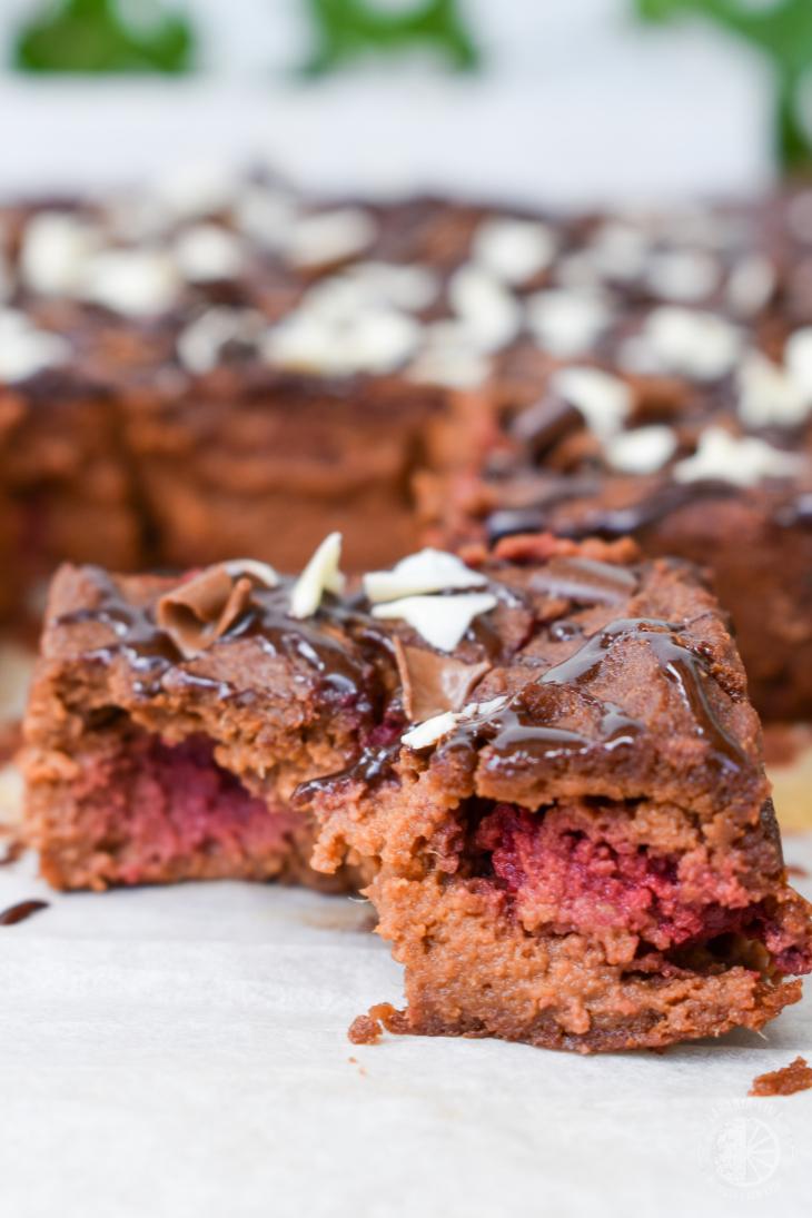 Brownie de chocolate sem farinha e açúcar