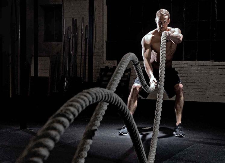 Como usar a corda de Crosstraining?