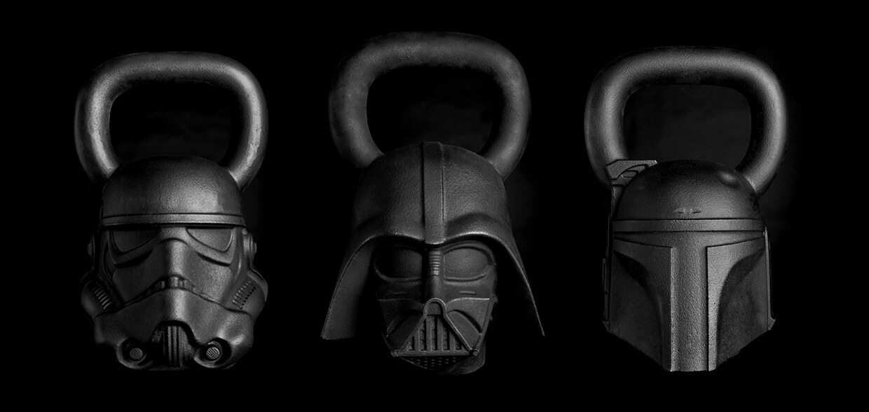 Kettlebells star wars