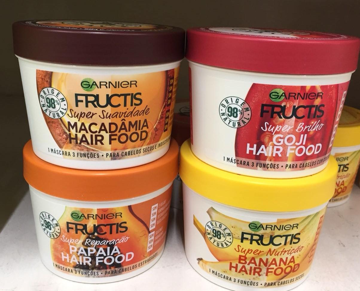 máscaras de cabelo vegan Fructis